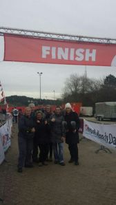 De Finish na 47km!